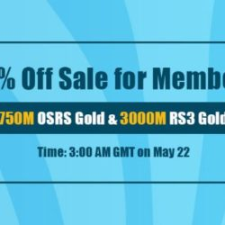 Amazing 80% Off RS Gold for Sale Available for RSorder Members on May.22