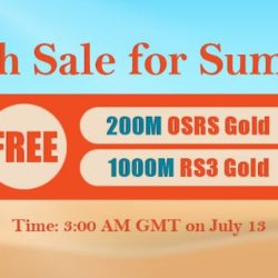 Come to RSorder Summer Flash Sale to Win Cheap OSRS Gold for Free on July 13